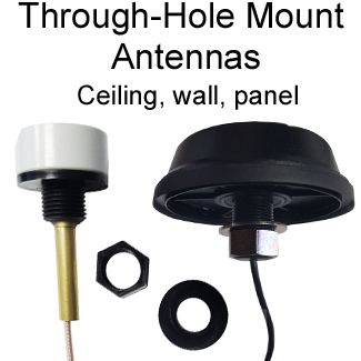Through-Hole Mount Antennas