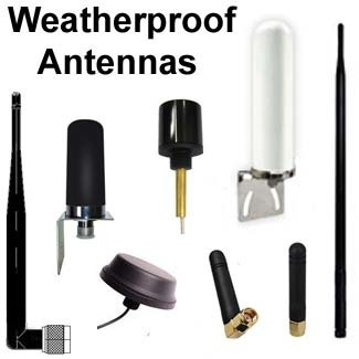 WeatherProof & Marine Antennas (low-cost)