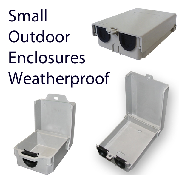 Small Enclosures for POE, Power Supply, Telco