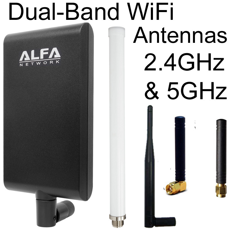 Dual Band 2.4GHz 5GHz