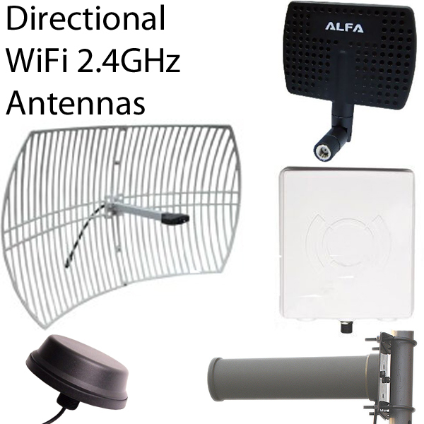 Directional 2.4GHz Antennas