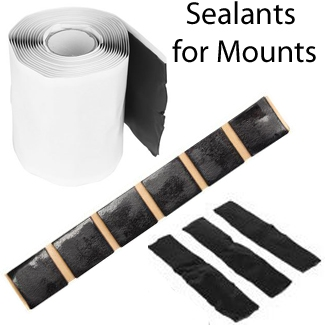 Sealants for Mounts: Tapes, PitchPads