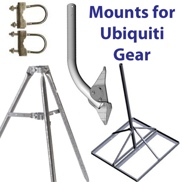 Mounts for Ubiquiti Gear