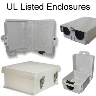 Enclosures: UL® Listed
