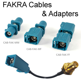 FAKRA Cables & Adapters