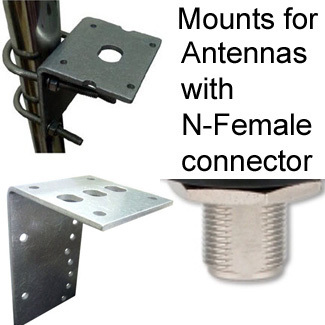 Mounts for Antennas w/ N-female