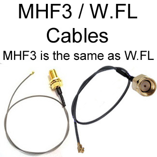 MHF3 Cables / MHF3 = MHF III