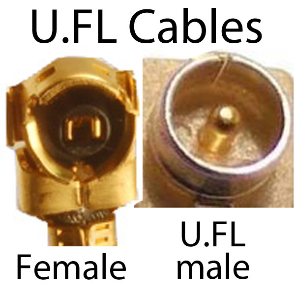U.FL Cables & Adapters
