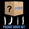 Mystery Lot - 4 Pack Lot Pocket Knives