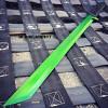 "27"" FULL TANG NINJA MACHETE KATANA SWORD ZOMBIE TACTICAL SURVIVAL KNIFE GREEN"