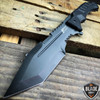 "12"" G10 TACTICAL SURVIVAL Rambo Hunting FIXED BLADE KNIFE Army Bowie Combat"