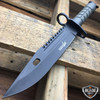 "13"" Bayonet Military Tactical Survival Hunting Knife Fixed Blade Rambo Army"