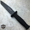 "12"" TACTICAL BOWIE SURVIVAL HUNTING KNIFE MILITARY Combat Fixed Blade."