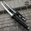 "40"" BLACK GOLD DRAGON SAMURAI NINJA Bushido KATANA Japanese Sword Steel Blade"