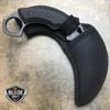 "7"" HEAVY DUTY FULL TANG TACTICAL HAWKBILL KARAMBIT FIXED BLADE HUNTING KNIFE NEW"