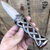 "9"" MEDIEVAL Scottish Highland Celtic Sgian Dubh Knife Dirk Dagger Fixed Blade"