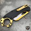 """7"""" TACTICAL Assisted Open Pocket Knife CLEAVER RAZOR FOLDING Blade + Carabiner"""