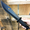 "12"" SURVIVAL HUNTING JUNGLE MACHETE Fixed Blade Military Camping Outdoor KNIFE"