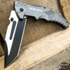 "8.25"" USMC Marines Military Spring Assisted Open Tactical Folding Pocket Knife"