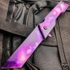 """8"""" Mack Schmidt Tactical Tanto Blade Spring Assisted Folding Open Pocket Knife"""