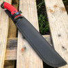"""15.5"""" HUNTING SURVIVAL FIXED BLADE MACHETE Tactical Knife Rambo Sword Camping"""