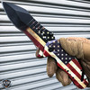 MTECH American FLAG Spring Assisted Folding Open POCKET KNIFE Rescue PATRIOTIC