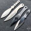 24PC MIXED Ninja Hunting KNIVES Tactical Naruto Kunai Throwing Knife Set w Case