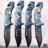 "8"" Hunting Animal Wildlife Tactical Spring Assisted RESCUE Folding Pocket Knife"