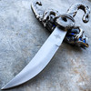 "10""  Dragon Fantasy Fixed Blade Knife Dagger Sword Medieval Ninja w/ Sheath NEW"