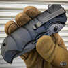 "8.75"" USMC MARINES TACTICAL SPRING ASSISTED FOLDING POCKET KNIFE Blade BLACK NEW"