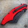 """8"""" DARK SIDE Skull Tactical Spring Assisted Open FOLDING POCKET KNIFE Blade"""