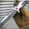"""8"""" TAC FORCE Tactical Spring Assisted CLEAVER RAZOR Pocket Folding OPEN Knife"""