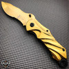 Tactical Spring Assisted OpenCamping  Folding Pocket Knife Blade NEW