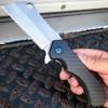 Carbon Fiber Cleaver Razor Pocket Knife