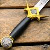 """15.5"""" Dark Knight Celtic Cross Medieval Fixed Blade Short Sword Knife Dagger"""