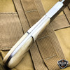 "9"" GENUINE BONE HANDLE FULL TANG Kitchen Hunting Knife Stainless Steel Blade NEW"