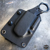 S-TEC Folding Karambit Self Opening Pocket Knife w/ Belt Sheath