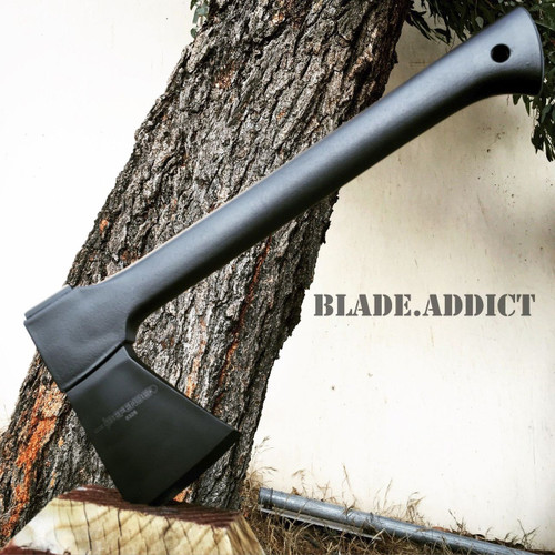 """14"""" TOMAHAWK TACTICAL HUNTING AXE CAMPING THROWING BATTLE HATCHET SURVIVAL KNIFE"""