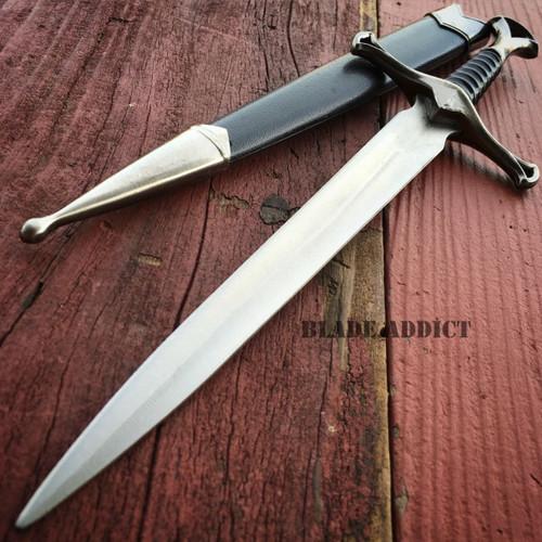 """13.5"""" KING ARTHUR MEDIEVAL ORNATE HISTORICAL FANTASY DAGGER Short Sword Knights"""