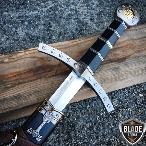 "23"" King Arthur Excalibur Crusader Medieval Sword Scabbard Historical Fantasy -"