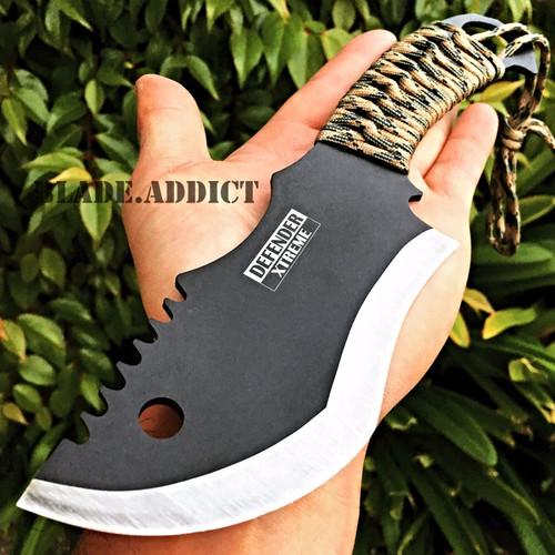 """10.5"""" FULL TANG HUNTING KNIFE Paracord"""