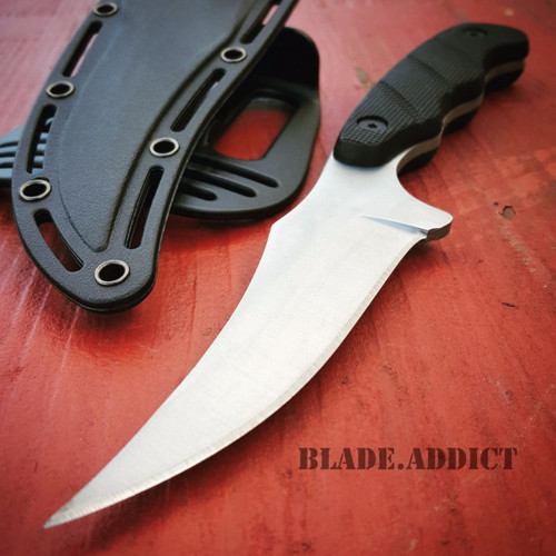 """9"""" TACTICAL SURVIVAL KNIFE Hunting Skinner MILITARY Fixed Blade Rambo Bowie"""
