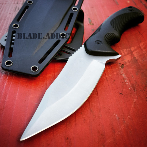 """9"""" TACTICAL SURVIVAL KNIFE Hunting MILITARY BOWIE Fixed Blade Rambo Army Boot"""