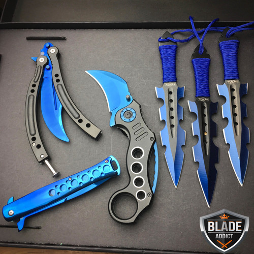 ALL BLUE TACTICAL MYSTERY SET