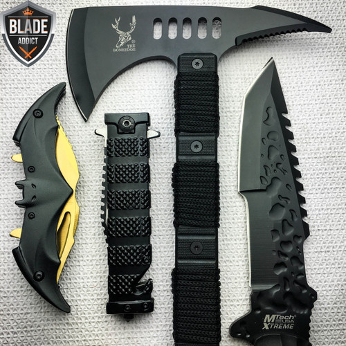 4PC Tactical Hunting Knife Set