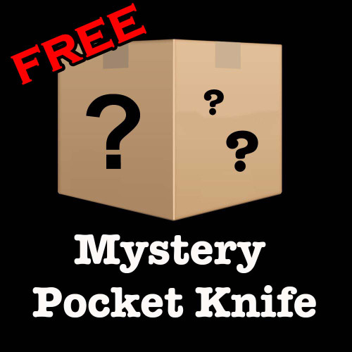FREE MYSTERY POCKET KNIFE