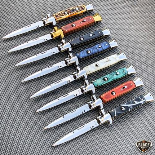 Italian Stiletto Pocket Knife