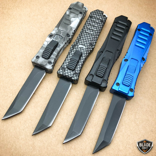 Micro Firecracker Wasp Tanto Blade OTF Knife