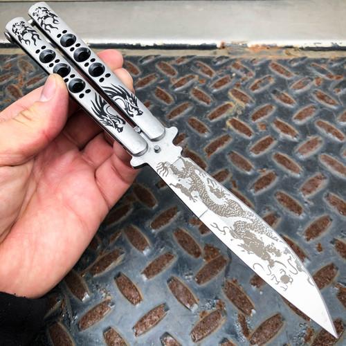 dragon butterfly knife
