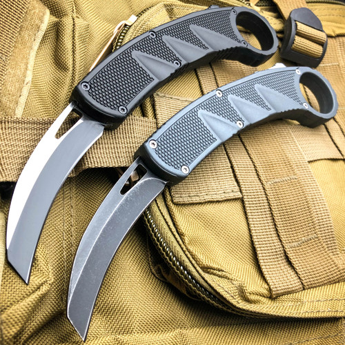 Raptor Claw Tactical Auto Karambit Dual Action OTF